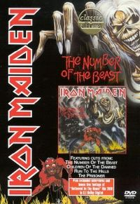 Cover Iron Maiden - The Number Of The Beast [DVD]